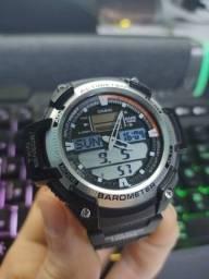 Título do anúncio: Relógio Casio Sgw-400H Barômetro Altímetro Termômetro Cronômetro