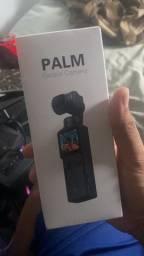 Palm gimbal câmera 4K