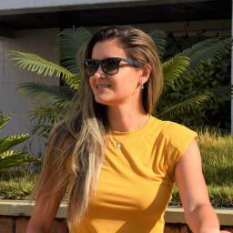 Blusa Muscle tee amarela