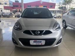 Nissan March 1.6 SL FlexStart Xtronic 19/20 Prata (quilometragem muito baixa)