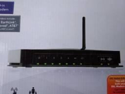Roteador Netgear N150 Wireless + Modem Router