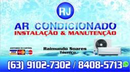 Instalação, higienização e manutenção em ar condicionado