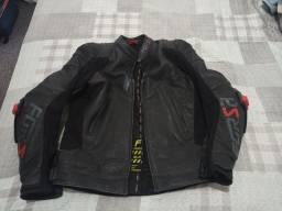 Título do anúncio: Jaqueta moto Forza couro