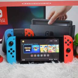 Nintendo Switch (Completo com garantia)