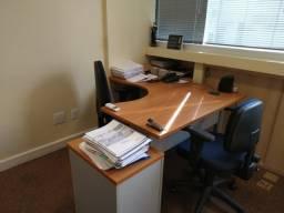 Móveis de escritório venda, mesa, cadeira, balcão, gaveteiros, ar condicionado