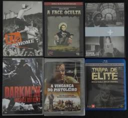 Blue-Ray e DVDs originais