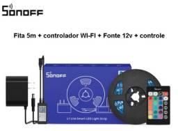 Kit Fita LED Smart Sonoff L1 5 metros - Compatível com Alexa