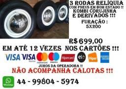 Rodas Relíquia  Kombi Corujinha  e derivados !!