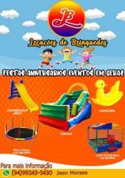JBL locações de brinquedos para festas infantis