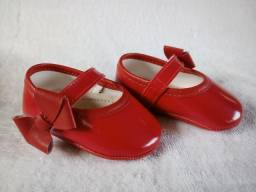 Sapato sapatilha feminino vermelho n 04