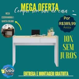 Título do anúncio: Escrivaninha oferta dos mês entrega e montagem grátis