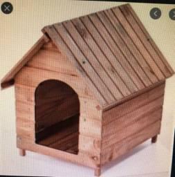 Casinha da madeira pequena