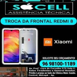 Troca da Frontal Xiaomi Redmi 8 (SÓCELL)