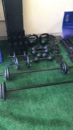 Toda linha Fitness e peso na DLA SPORTS