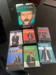 Título do anúncio: Box Série House - Temporadas 1-6