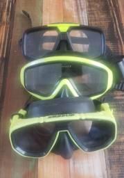 Mascara de mergulho