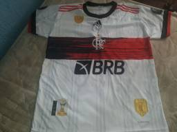 Camisa branca 2020/2021 do Flamengo