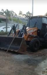 Retrô escavadeira