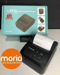 Mini impressora térmica portátil Leon