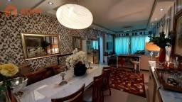Apartamento mobiliado com 03 suítes e 02 vagas individuais e privativas no Solar dos Pinha
