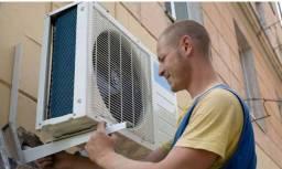 Instalação de ar condicionado novos e usados