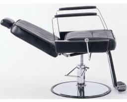 Cadeira Reclinavel para Barbeiro ou Cabeleireiro