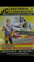 Construções e reformas
