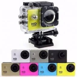 Mini Câmera Sports HD 1080p Aprova D'água