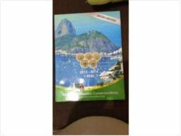 Coleção Olimpíadas 2016 - completa mais o álbum de brinde - Verdadeira Relíquea!!!