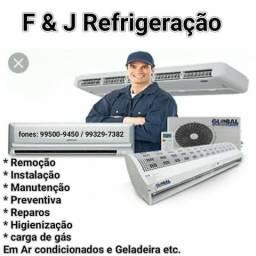 F & J Refrigeração e Elétrica