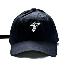 Boné aba curva dad hat fita strapback anjo