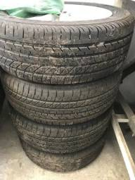 Rodas Corolla altis 2012 a 2014 com pneus seminovos