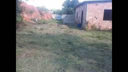 Terreno Grande com casa pré pronta