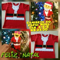 Camiseta do papai Noel