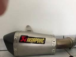Escapamento Akrapovick + Link Piper (full) Zx 10 Kawasaki 2010-2015