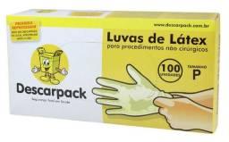 Luva de latex descarpack para procedimento ,não esteril
