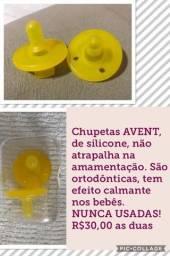 Vendo CHUPETAS AVENT!!