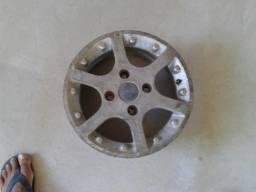 Roda aro 13 em alumínio pra step da Ford