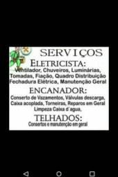 Eletricista e Encanador serviços especializados whatsapp 17 99635-6213