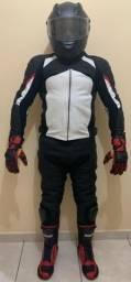 Conjunto Macacão Motociclista Completo
