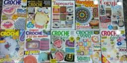 Revista Croche - Nova - Kit 20 Revistas