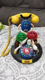 Telefone m&m's americano antigo decada 90