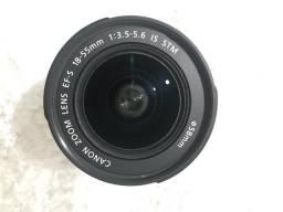 Lente CANON EFS 18-55mm - nova, zero, nunca usado