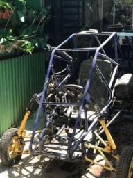 Gaiola Cross - motor de Falcon 400 cc - kart cross - 2012 comprar usado  Brasília