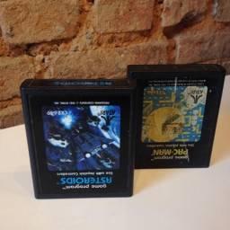 Pacman e Asteroids Atari 2600