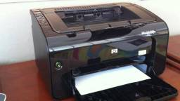 Impressora Hp p1102w Toner novo Com Wi-fi