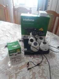 Sistema de câmeras Intelbras