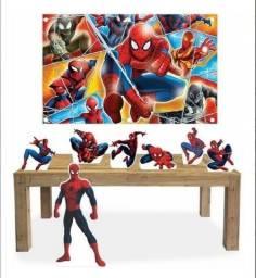 Kit decoração festa infantil Homem Aranha
