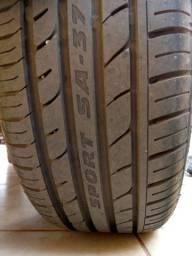 Rodas 17 4/100 pneus 195/40/17