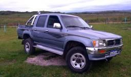 Imperdível, Toyota hilux 4x4, 2001 completa